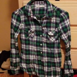XS Old Navy Flannel